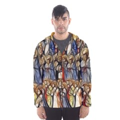All Saints Christian Holy Faith Hooded Wind Breaker (men)