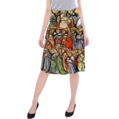 All Saints Christian Holy Faith Midi Beach Skirt