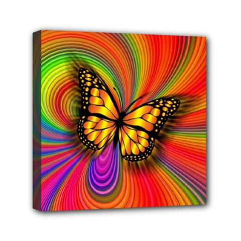 Arrangement Butterfly Aesthetics Mini Canvas 6  X 6