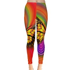 Arrangement Butterfly Aesthetics Leggings