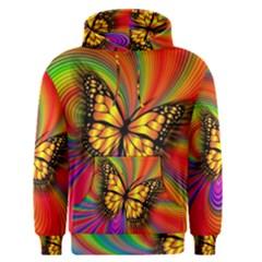 Arrangement Butterfly Aesthetics Men s Pullover Hoodie