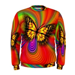 Arrangement Butterfly Aesthetics Men s Sweatshirt