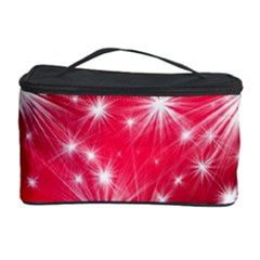 Christmas Star Advent Background Cosmetic Storage Case