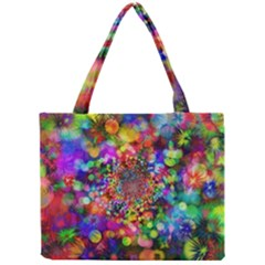 Background Color Pattern Structure Mini Tote Bag