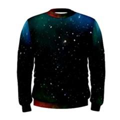 Galaxy Space Universe Astronautics Men s Sweatshirt