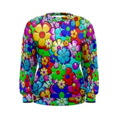Flowers Ornament Decoration Women s Sweatshirt