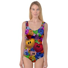 Heart Love Smile Smilie Princess Tank Leotard