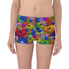 Heart Love Smile Smilie Boyleg Bikini Bottoms