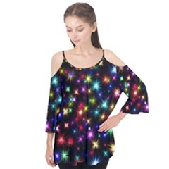 Fireworks Rocket New Year S Day Flutter Tees