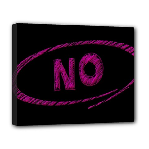 No Cancellation Rejection Deluxe Canvas 20  X 16