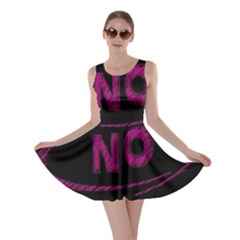 No Cancellation Rejection Skater Dress