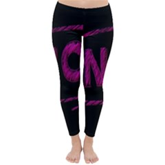 No Cancellation Rejection Classic Winter Leggings