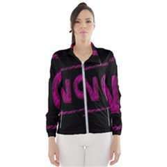 No Cancellation Rejection Wind Breaker (women)