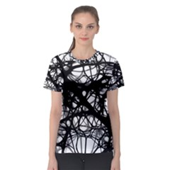Neurons Brain Cells Brain Structure Women s Sport Mesh Tee