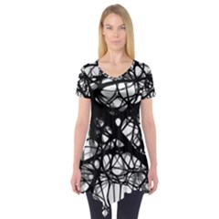 Neurons Brain Cells Brain Structure Short Sleeve Tunic