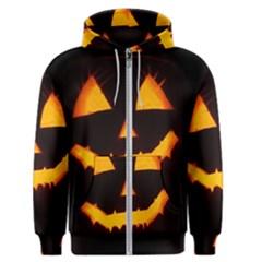 Pumpkin Helloween Face Autumn Men s Zipper Hoodie