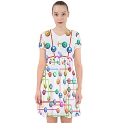 Icon Media Social Network Adorable In Chiffon Dress
