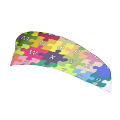 Puzzle Part Letters Abc Education Stretchable Headband