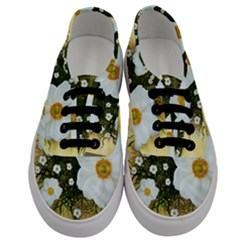 Summer Anemone Sylvestris Men s Classic Low Top Sneakers