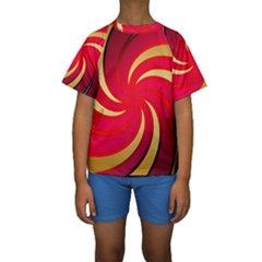 Tinker Color Share Many About Kids  Short Sleeve Swimwear