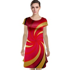 Tinker Color Share Many About Cap Sleeve Nightdress