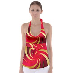Tinker Color Share Many About Babydoll Tankini Top