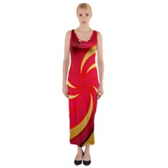 Tinker Color Share Many About Fitted Maxi Dress