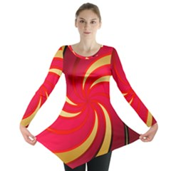 Tinker Color Share Many About Long Sleeve Tunic