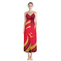 Tinker Color Share Many About Button Up Chiffon Maxi Dress