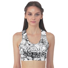 Time Clock Watches Time Of Sports Bra