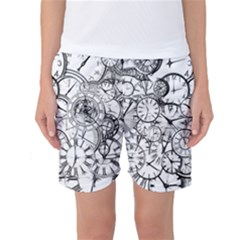 Time Clock Watches Time Of Women s Basketball Shorts