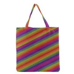 Spectrum Psychedelic Green Grocery Tote Bag