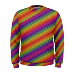 Spectrum Psychedelic Green Men s Sweatshirt