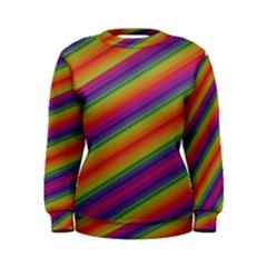 Spectrum Psychedelic Green Women s Sweatshirt