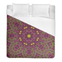 Butterflies  Roses In Gold Spreading Calm And Love Duvet Cover (Full/ Double Size) View1