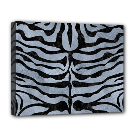 Skin2 Black Marble & Silver Paint Deluxe Canvas 20  X 16
