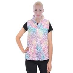 Festive Color Women s Button Up Puffer Vest