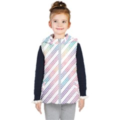 Colored Candy Striped Kid s Puffer Vest