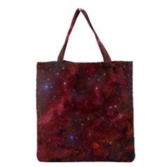 Abstract Fantasy Color Colorful Grocery Tote Bag