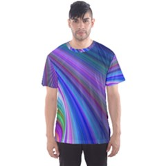 Background Abstract Curves Men s Sports Mesh Tee