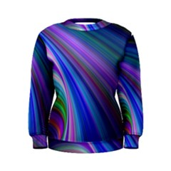 Background Abstract Curves Women s Sweatshirt