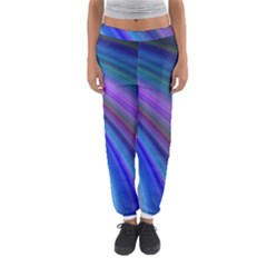Background Abstract Curves Women s Jogger Sweatpants