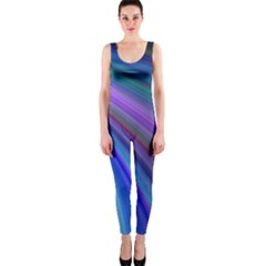 Background Abstract Curves Onepiece Catsuit