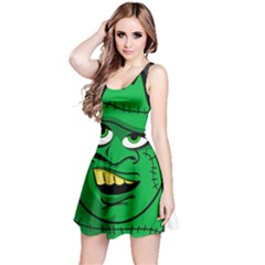 Buy Me A Coffee Halloween Reversible Sleeveless Dress
