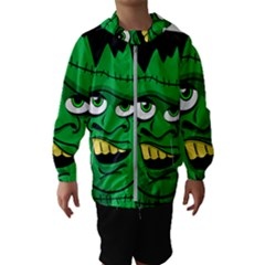 Buy Me A Coffee Halloween Hooded Wind Breaker (kids)