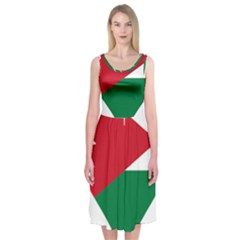 Heart Love Affection Jordan Midi Sleeveless Dress