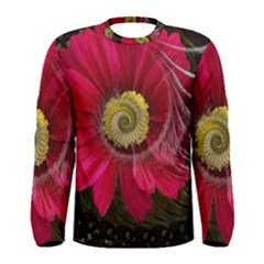 Fantasy Flower Fractal Blossom Men s Long Sleeve Tee