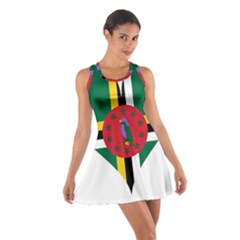 Heart Love Flag Antilles Island Cotton Racerback Dress