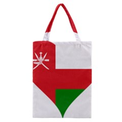 Heart Love Affection Oman Classic Tote Bag