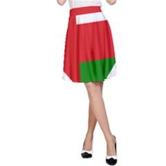Heart Love Affection Oman A Line Skirt